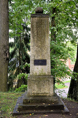 Denkmal für Johann Karl Simon Morgenstern - Park auf dem Domberg in Tartu;