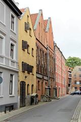 Wohnhäuser - Geschäftshaus in der Ulica Rabiańska von Toruń.