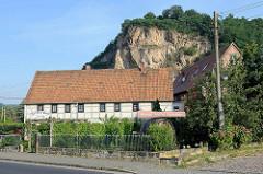 Boselmassiv / Spaargebirge bei Meißen - ehem. Steinbruch.