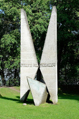 Friedrich Georg Wilhelm Struve Denkmal, Toomemägi (Domberg) in Tartu.