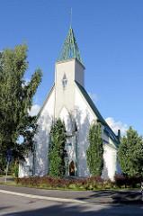 Salem Baptistenkirche in Tartu - moderne Kirchenarchitektur, Architektin  Maarja Nummert.