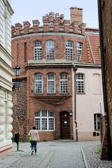 Turm Koci Łeb / Katzenturm in Toruń, Teil der ehem. Befestiungsanlage aus dem 13. Jahrhundert.