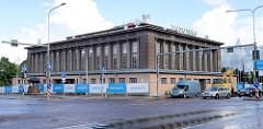 Alte Markthalle von Tartu - Architektur der 1920er Jahre.