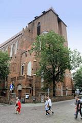 Kathedrale St. Johannes der Täufer und Johannes der Evangelist in Toruń - Ursprungsgebäude aus dem 13. Jahrhundert, heute Form aus dem 15. Jhd.