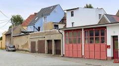 Garagen - Hallen, Gewerbegebiet an der Bahnhofsstraße in Belgern.
