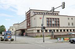Hauptbahnhof der Stadt Meißen - Empfangsgebäude, erbaut 1928.