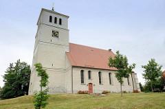 St. Marienkirche in Schildau; Ursprungsgebäude um 1170 - Umbauten im 17. Jahrhundert.
