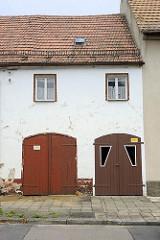 Garagentore - Holztore; Architekturbilder aus Schildau.