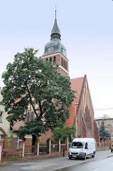 Neogotische Gottesmutterkirche in Toruń, erbaut 1907.