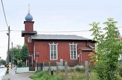 Orthodoxe Holzkirche Heiliger Nikolaus / St. Nicholas in der Straße Podgórna von Torun.