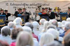 Veranstaltung  auf dem  12. rahvusvaheline puhkpillifestival / Blasmusik in Tartu