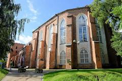 Die Domkirche von Tartu ist eine der größten sowie die einzige zweitürmige mittelalterliche Kirche Estlands. Mit dem Bau der Kirche wurde im 13. Jahrhundert begonnen und die Bauarbeiten wurden bis zum Beginn des 16. Jahrhunderts fortgesetzt.