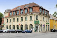 Jugendstilarchitektur in Pärnu - Gebäude Café Grand, Hotel.