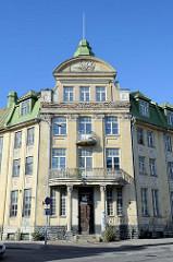 Altes Gebäude der Estnischen Akademie der Künste, Kunstakakemie / Eesti Kunstiakadeemia in der Uus-Sadama / Tallinn.