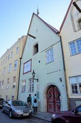 Historische Gebäude in der Rüütli Straße von Tallinn.