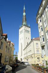 St. Olavkirche / Olaikirche von Tallinn, Wiederaufbau 1651.