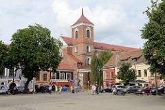 Kathedrale St. Peter und Paul in der Altstadt von Kaunas - Bischofskirche; Baubeginn um 1410 im gotischen Baustil - mehrfach umgebaut.