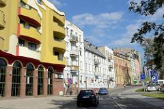 Moderne Jugendstilarchitektur - Neubau in der Feliksa Nowowiejskiego in Olsztyn.