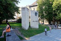 Denkmal für Eduard Vilde in Tallin - Schriftsteller.