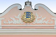 Wappen der baltischen Republik Estland, Verwendung von 1918 - 1940 und wieder ab 1990 - auch Wappen der Stadt Tallinn.