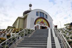 Orthodoxe Kirche des Schutzes der Jungfrau Maria in Olsztyn  - Kirche des byzantinisch- ukrainischen Ritus, geweiht 2003.