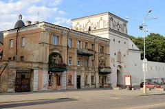 Tor der Morgenröte / Spitzes Tor - Teil der historischen Stadtmauer von Vilnius.
