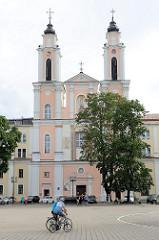 Jesuitenkirche in Kaunas, Barockkirche - geweiht Mitte 18. Jhd.