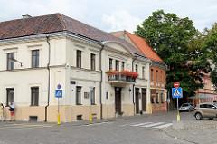 Historische Gebäude in der Altstadt von Kaunas.