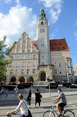 Neues Rathaus von Olsztyn - errichtet 1905