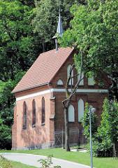 Russisch-orthodoxe Mariä-Schutz-Kirche, alte Friedhofskapelle - errichtet 1904, Architekt Paul Christian Zeroch