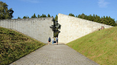 owjetische Gedenkstätte Maarjamäe in Tallinn - Architekt A. Murdmaa - Bildhauer M. Varik, errichtet 1980.