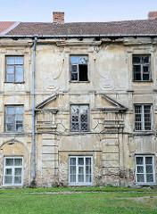 Radvilų – Palast aus dem 17. Jahrhundert in Vilnius; Die Familie Radvilos war über drei Jahrhunderte eine der mächtigsten und einflussreichsten Familien in Litauen - jetzt teilw. Nutzung als Kunstmuseum / Galerie.