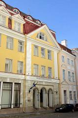 Fassade vom Estnischen Landwirtschaftsministerium / Maaeluministeerium in Tallinn.