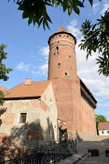 Burg Allenstein, Deutschordensburg - im Ursprung 1360 errichtet.