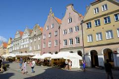 Wohnhäuser in der Altstadt von Olsztyn.