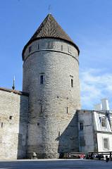 Reeperbahnturm / Köismäe torn - Wehrturm der Tallinner Stadtbefestigung.