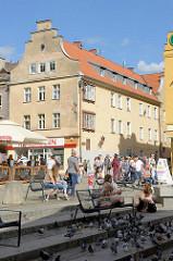 Altstadt / Stare miastro von Olsztyn.