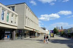 Einkaufszentrum an der Upės g.  im Stadtteil  Šnipiškės in Vilnius.