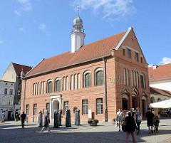 Altes Rathaus von Olsztyn, erbaut 2. Hälfte des 14. Jahrhunderts, Nutzung bis 1915 - jetzt Sitz der Öffentlichen Woiwodschaftsbibliothek.