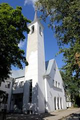 Kirchturm der Tallinner Peetel Kirche, erbaut 1938 - Architekt Eugen Sacharias. Ab 1962 Nutzung durch das estnische Fernsehen - ab 2000 Restaurierung.