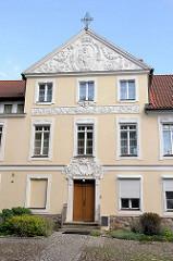 Bischofspalast in Olsztyn, neobarockes Gebäude - errichtet 1772, Umbau mit Jugendstilelementen 1907.