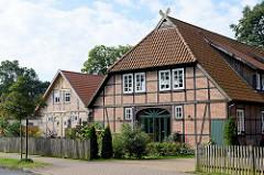 Historische landwirtschaftliche Gebäude in Bispingen - Nutzung als Wohnhaus.