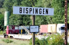 Alter Bahnhof Bispingen - die Strecke wurde 1975 für den Personenverkehr stillgelegt.