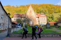 St. Georg Kapelle in Stolberg, 1892 in neogotischem Baustil wieder errichtet.