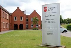 Moderne Verwaltungsarchitektur - Finanzamt Aurich.