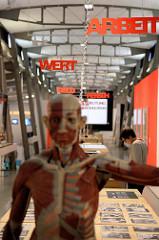 DAS KAPITAL - Ausstellung  im Hamburger Museum der Arbeit.