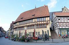 Rathaus von Stolberg / Harz, erbaut 1452.