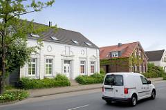 Architektur - Wohnhäuser in Jever.