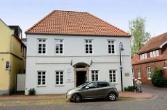 Historische Architektur - kleine Wasserpfortstraße / St. Annenstraße in Jever.