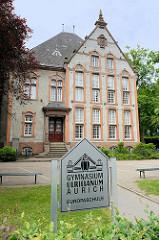 Gebäude vom Gymnasium Ulricianum in Aurich